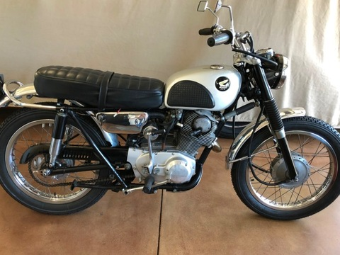 1963 Honda CL72 250 Scrambler