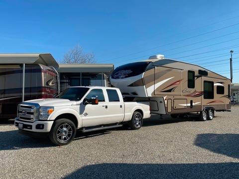 2016 KEYSTONE 5TH WHEEL COUGAR 288RLS