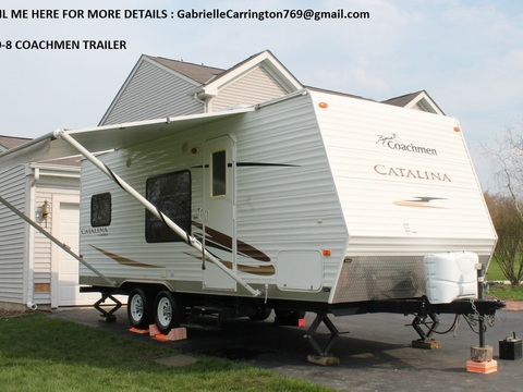 2008 Coachmen Catalina 24FT Sleeps 8 Queen Bed