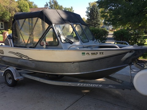 2002 Hewescraft 179 Sea Runner