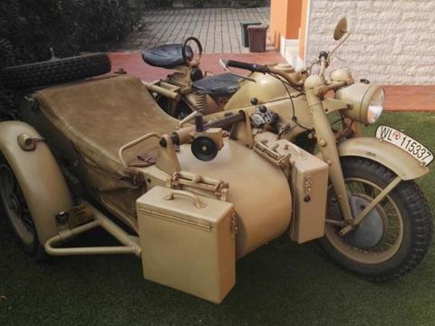 1943 zundapp ks750 ww2 military