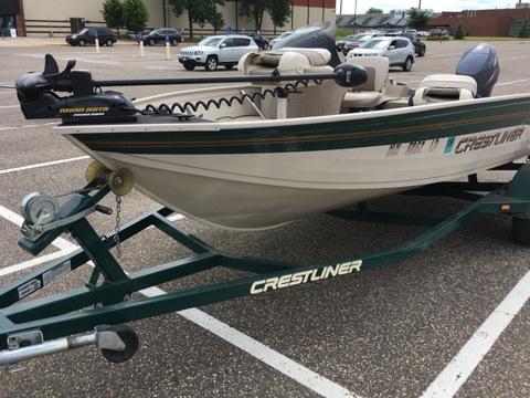 2002 Crestliner 1600 Angler SC