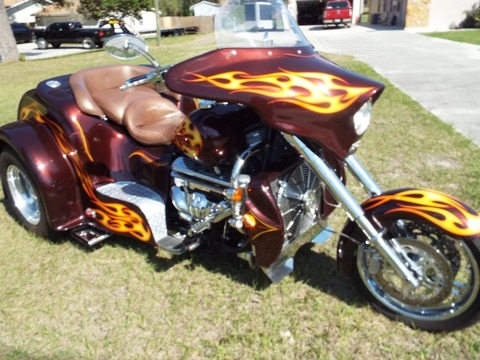 2006 Boss Hoss Trike Coupe Body 350 ZZ4