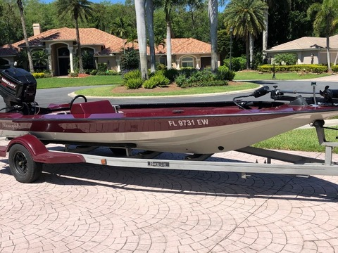 1987 Storm Boats Bass Boat