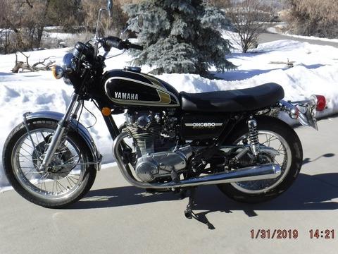 1975 Yamaha VS650B