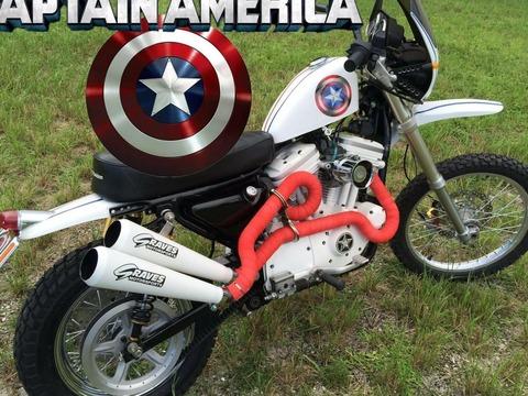 1993 Harley Davidson Sportster Scrambler
