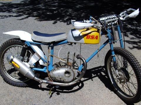 1974 Hagon Frame kit BSA 441 Victor Grass Track racer