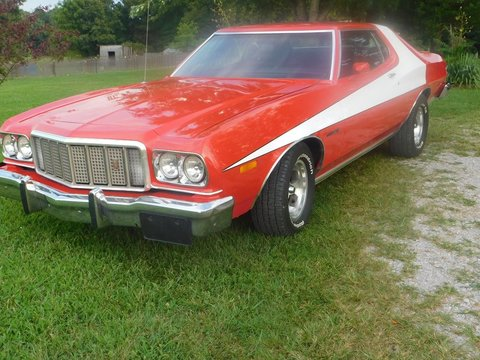 1976 Ford gran torino starsky/ hutch  edition