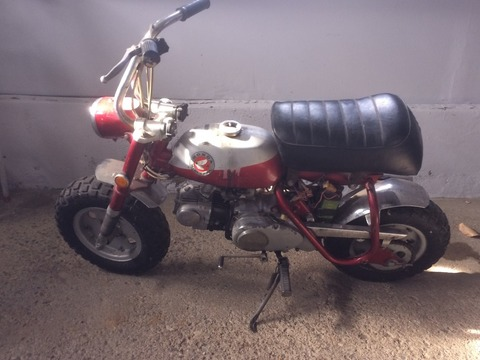 1970 Honda Z 50K