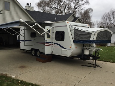 Prime Jayco 23B Hybrid Trailer Rvs For Sale Unemploymentrelief Wooden Chair Designs For Living Room Unemploymentrelieforg