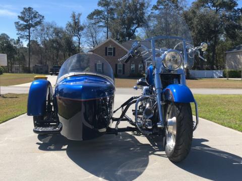 1994 Harley Davidson Fatboy with Custom Sidecar