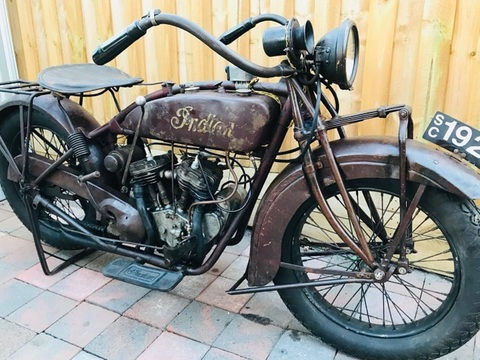 1927 Indian Motorcycle Scout