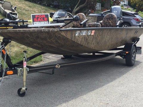 2016 G3 Boats Sportsman 17 Camo