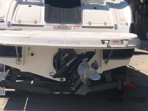 HEAVY DUTY Four Winns 235 Sundowner Cuddy Cabin I//O Trailerable Boat Cover