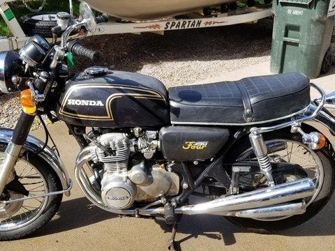 1974 Honda CB350F