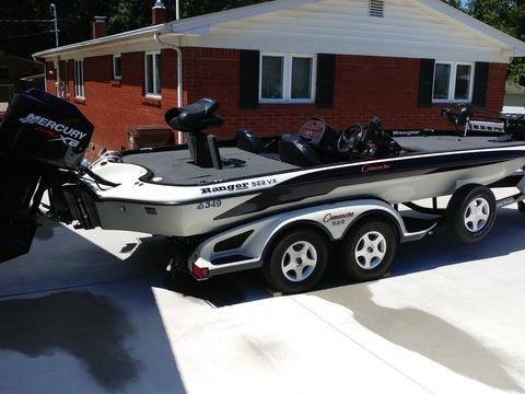 2001 Ranger Boat 522SVX