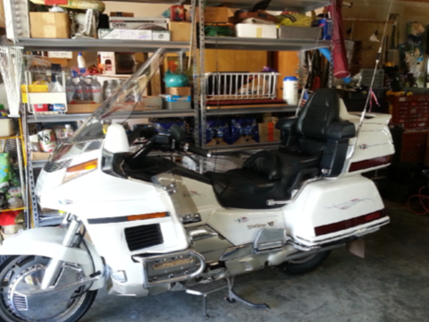 1994 Honda Goldwing 1500 SE with California Sidecar/Shoreline Trailer