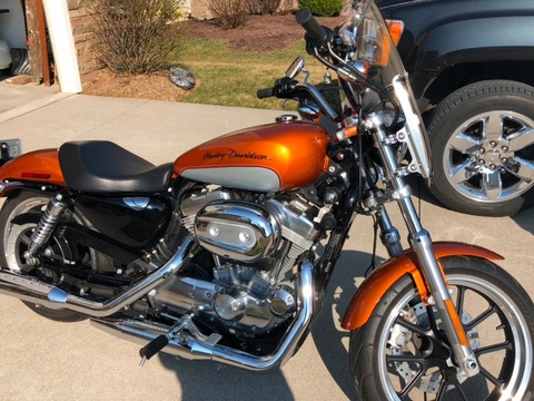 2014 Harley-Davidson 883 Superlow