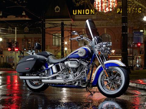 2014 Harley-Davidson CVO Custom Softail Delux