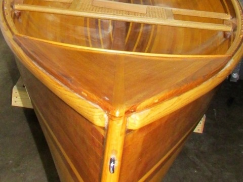 2005 Hand Made, Custom Built, Wood Strip Modified Adirondack Guide Boat
