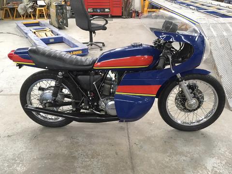1974 Kawasaki H1E