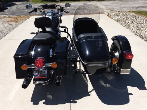 2009 Harley-Davidson Road King w/ Side Car