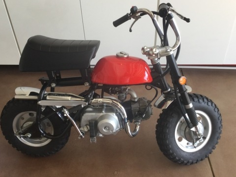 1969 Honda Z50 Mini Trail Monkey Bike Z50