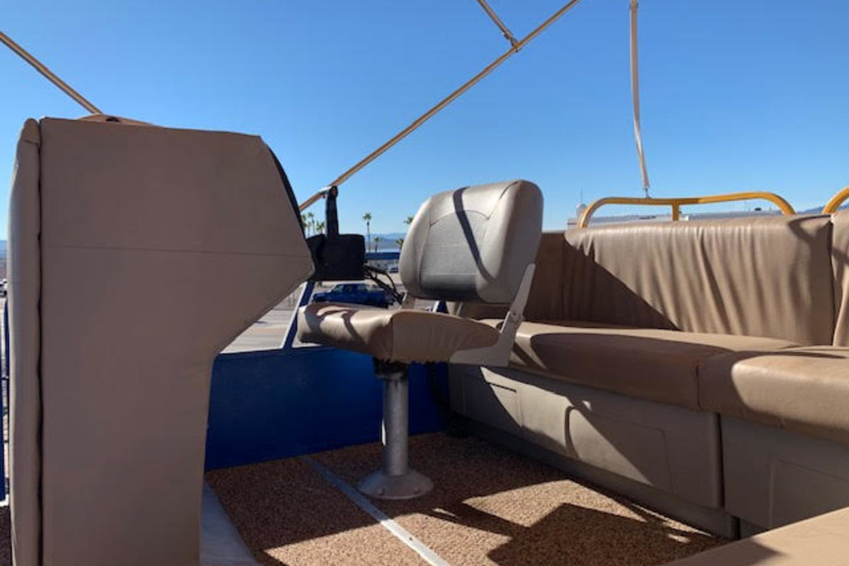 1988 Starcraft Marine Pontoon 18', 4