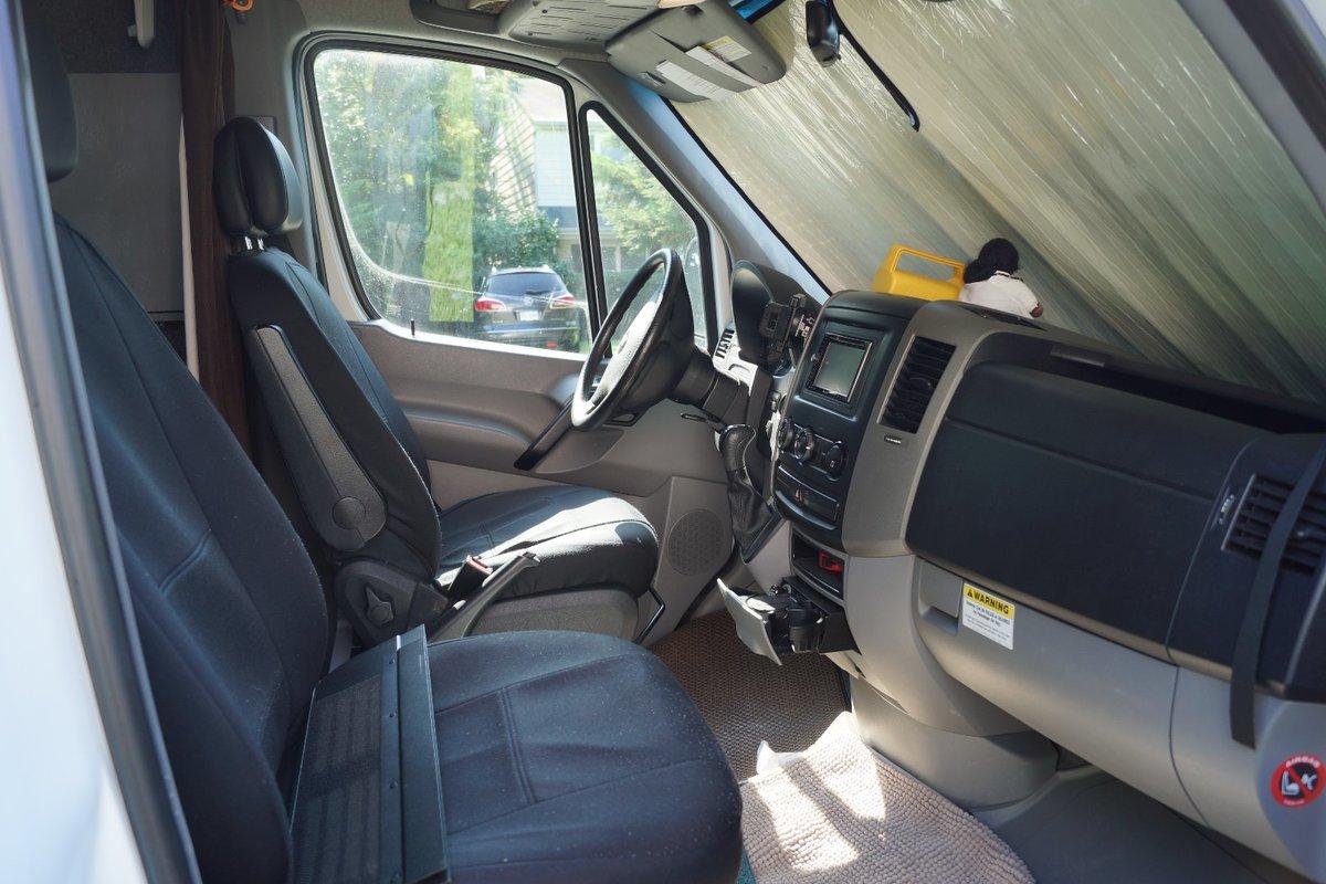 2007 Dodge Sprinter 2500 Diesel RV Conversion Van White, 3