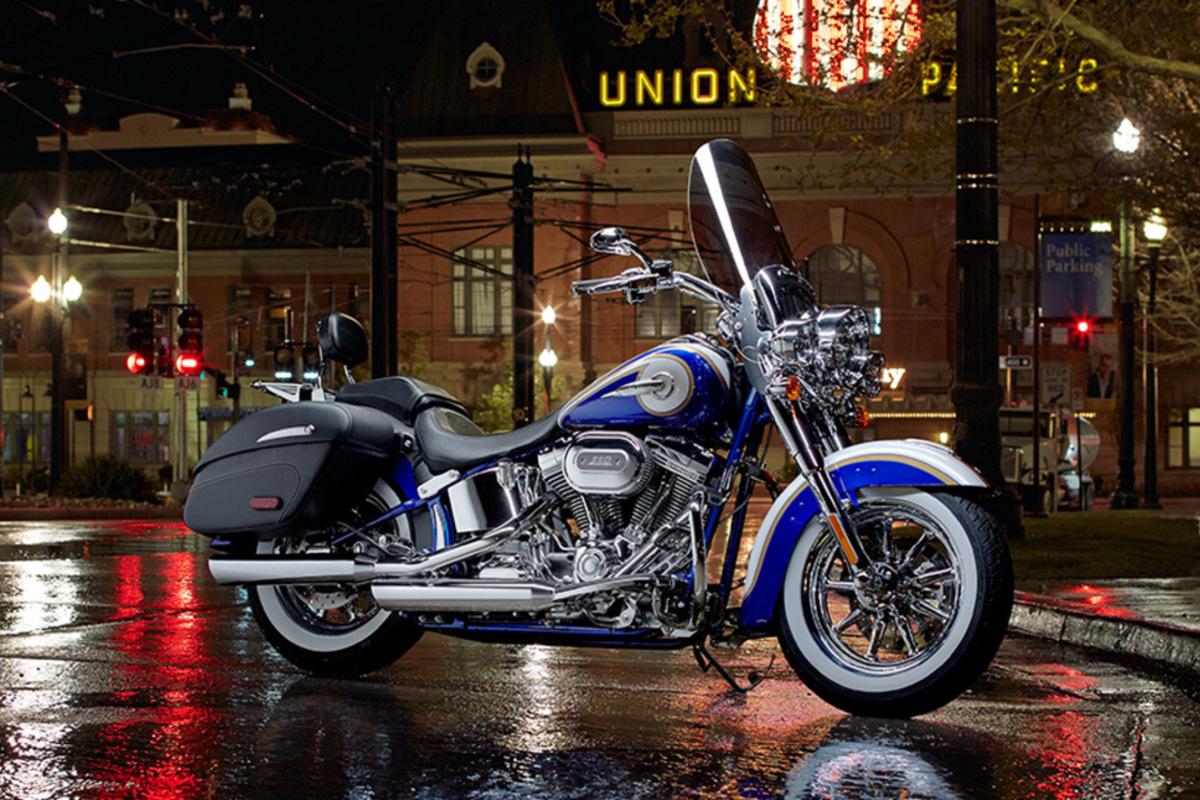 2014 Harley-Davidson CVO Custom Softail Delux, 0