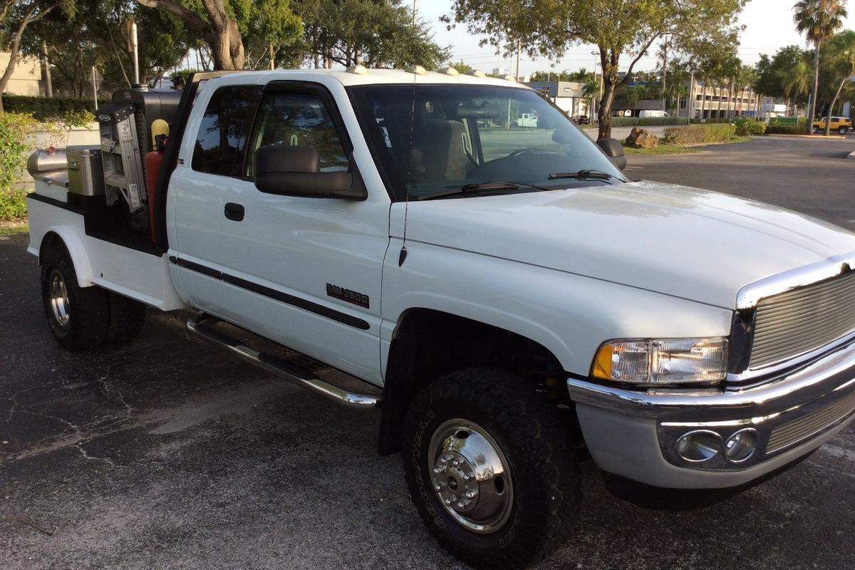 1999 Ram 3500 pickup, 4