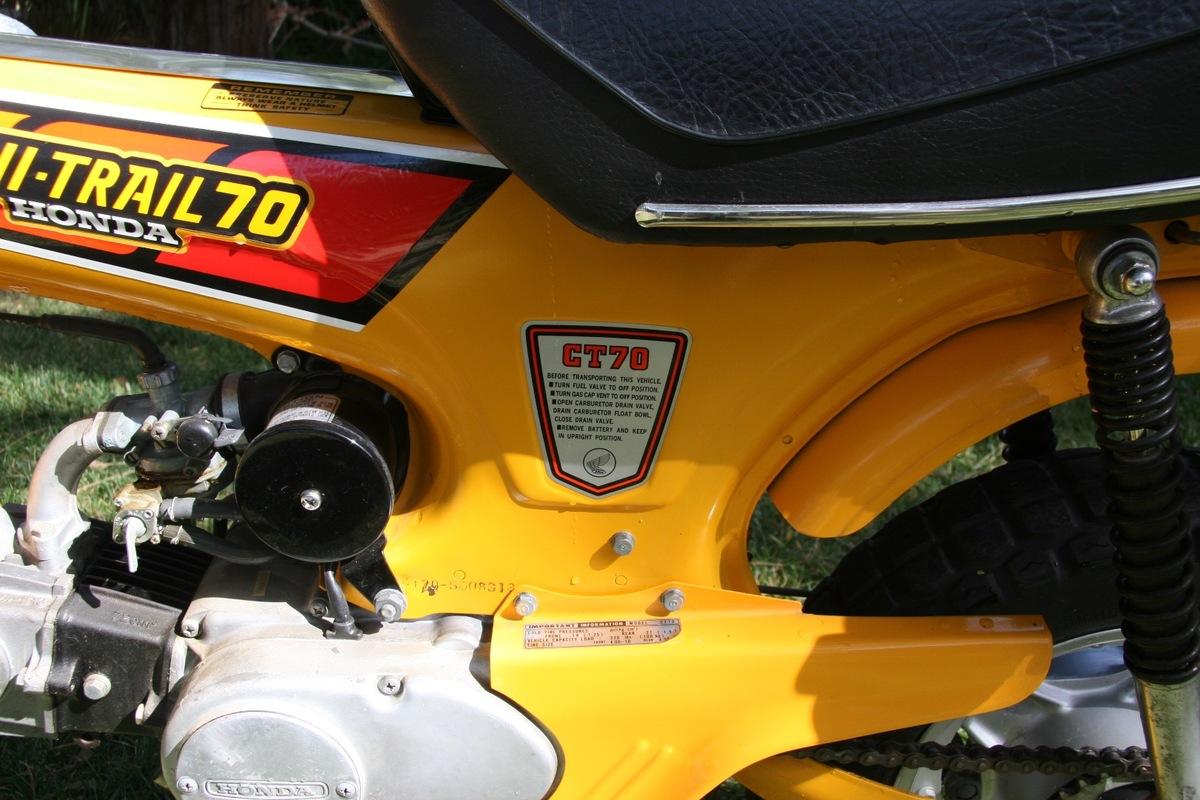 1979 Honda CT70, 4