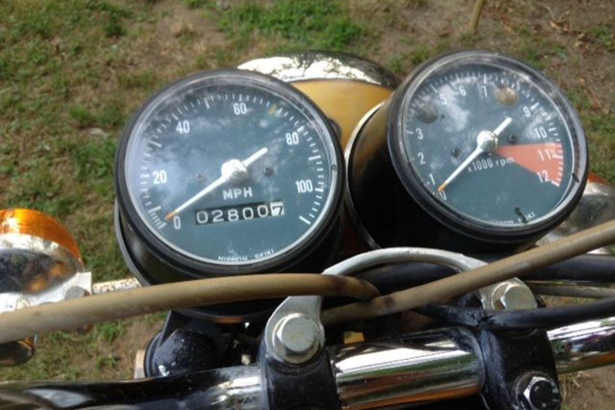1972 Honda CB 175, 1
