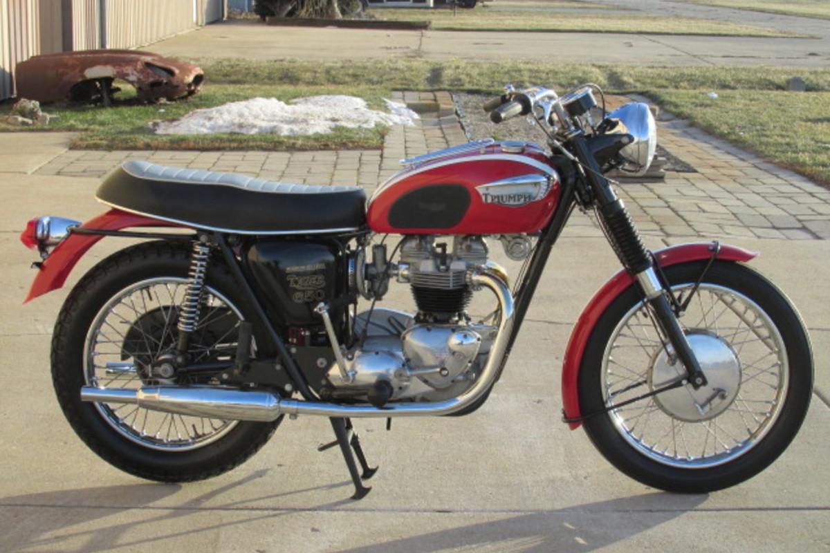 1966 Triumph Tiger 650cc, 3