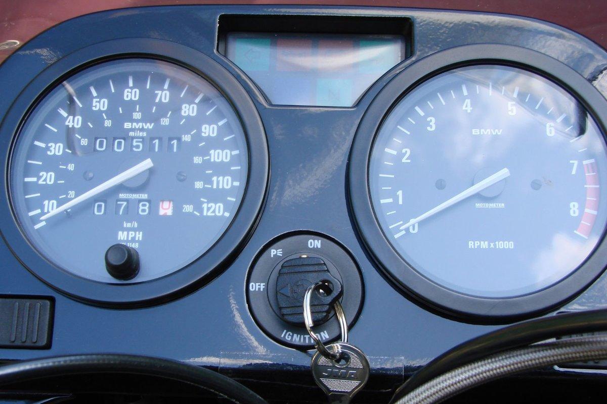 1993 BMW R100 GS Bumblebee, 6