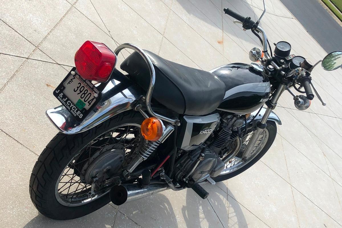 1976 Kawasaki KZ400, 1