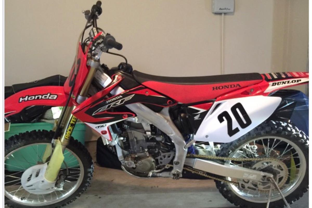 2008 Honda CRF450R, 0