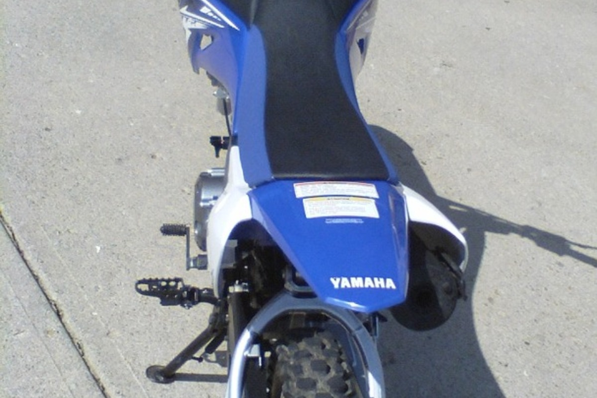 2009 Yamaha TT-R110EY, 5