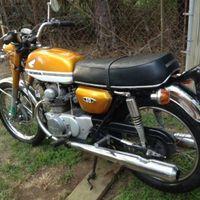 1972 Honda CB 175, 4