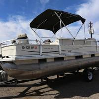 2004 Sun Tracker Signature Series Fishing Barge 21, 20