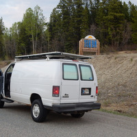 2007 Quigley 4x4 Ford E250 Stealth Camper Van Quigley 4x4 Ford E250  Stealth Camper Van, 13