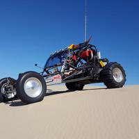 1973 VW - Honda Turbocharged Civic sandrail dune buggy sand rail, 2