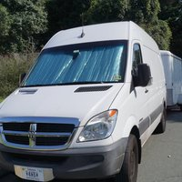 2007 Dodge Sprinter 2500 Diesel RV Conversion Van White, 0