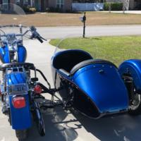 1994 Harley Davidson Fatboy with Custom Sidecar, 4