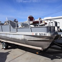 1988 Lowe Model 180 Pontoon, 16