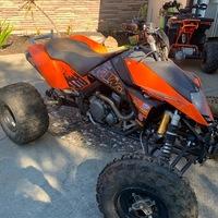 2008 KTM 525 XC ATV, 3