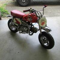 1986 Honda Z50r, 0