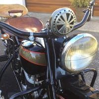 1939 Indian Motorcycle Chief, 9