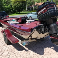 1987 Storm Boats Bass Boat, 1