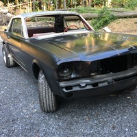 1965 ford mustang, 3